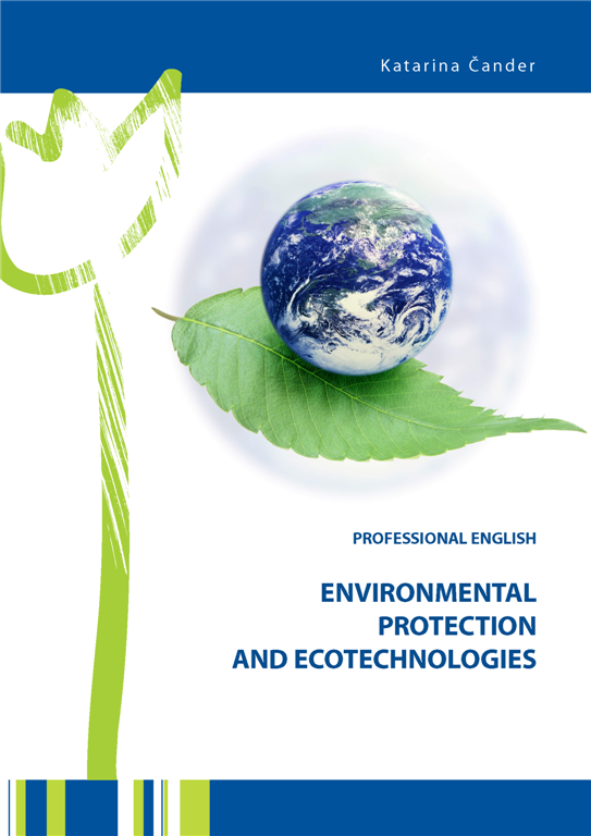 Professional English, Environmental Protection and Ecotechnologies- naslovnica